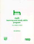 Math: Teacher's Guide: Hm Learning & Study Skills Program