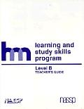 Level B: Teacher's Guide: Hm Learning & Study Skills Program
