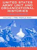 United States Army Unit and Organizational Histories: A Bibliography, Pre-World War 1