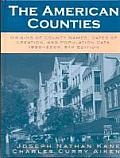 The American Counties: Origins of County Names, Dates of Creation, and Population Data, 1950-2000