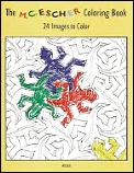 M C Escher Coloring Book 24 Images To