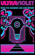 Ultraviolet: 69 Blacklight Posters from the Aquarian Age and Beyond Cover