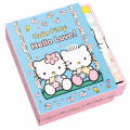 Hello Kitty Hello Love Notecards in a Slipcase with Drawer