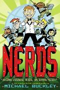 Nerds (National Espionage, Rescue, & Defense Society) #01: Nerds, Book 1: National Espionage, Rescue, and Defense Society Cover