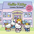Hello Kitty Loves School Includes Fun to Use Stickers