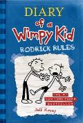 Diary of a Wimpy Kid: Rodrick Rules (Diary of a Wimpy Kid #02) Cover