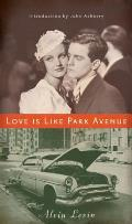 Love Is Like Park Avenue Cover