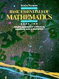 Basic Essentials of Mathematics Book Two Percent Measurement & Formulas Equations Ratio & Proportion