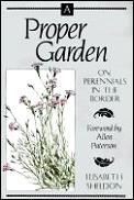 Proper Garden On Perennials In The Bord