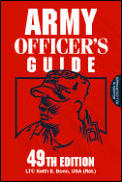 Army Officers Guide 49TH Edition