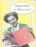 Helpful Hints For Housewives A Treasury