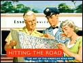 Hitting the Road: The Art of the American Road Map Cover