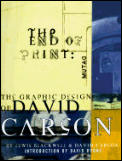 End of Print: The Graphic Design of David Carson Cover