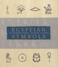 Egyptian Symbols Stamp Kit with Book and Other and Rubber Stamp and Ink Pad