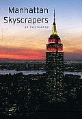 Manhattan Skyscrapers: 30 Postcards
