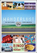 Wanderlust USA Postcard Box