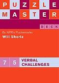 Puzzlemaster Deck 75 Verbal Challenges