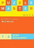 Puzzlemaster Deck 75 Mind Bogglers Cards