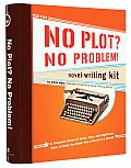 No Plot No Problem Novel Writing Kit With Radiant Badge Monthlong Log Daily Noveling Brief & Booklet