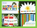 Eric Carle Birthday Party Kit: All You Need for the Best-Ever Birthday Bash with Sticker and Other and Booklet and Bag
