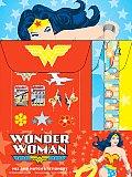 Wonder Woman Mix and Match Stationery with Sticker
