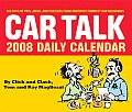 Car Talk Daily Calendar: 365 Days of Tips, Jokes, and Puzzlers from America's Funniest Car Mechanics