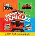 Giant Pop Out Vehicles A Pop Out Surprise Book