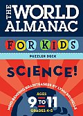 World Almanac for Kids Puzzler Deck Science 9-11: Science: Ages 9-11, Grades 4-5