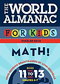 World Almanac For Kids Puzzler Deck Math Ages 11 to 13 Grades 6 to 7
