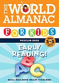 The World Almanac for Kids Puzzler Deck: Early Reading, Ages 3 to 5, Grades Prek-1 (World Almanac)