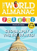 The World Almanac for Kids Puzzler Deck: Geography & the 50 States, Ages 7-9, Grades 2-3 (World Almanac)
