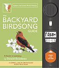 Backyard Birdsong Guide Eastern & Central North America A Guide to Listening With Sound Board