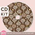 CD Packaging Kit - Candy Orchards: DIY: Turn Your Music and Photo CDs Into Instant Gifts