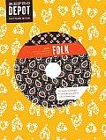 Folk Repro Depot Pattern Book 225 Vintage Inspired Textile Designs