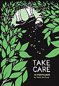 Nikki Mcclure Take Care Postcard Book
