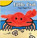 Little Crab Finger Puppet Book (Finger Puppet Books)
