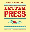 Little Book of Letterpress Cover