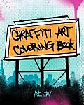 Graffiti Art Coloring Book Cover