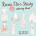 Rosie Flos Sticky Coloring Book