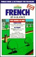 French At A Glance Phrase Book & Dictionary