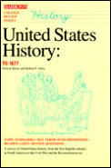 United States History To 1877 College Re