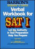 Sat I Verbal Workbook For Sat I