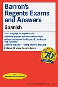 Barrons Regents Exams & Answers Spanish
