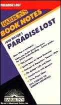 Paradise Lost Barrons Book Notes