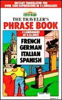 Travelers Phrase Book French German Italian