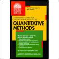 Quantitative Methods Business Review Ser