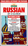 Russian At A Glance Phrase Book & Dictionary