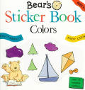 Bears Sticker Book Colors