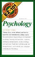 Psychology Barrons Ez 101 Study Keys