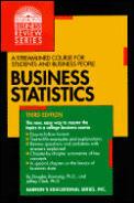 Business Statistics 3rd Edition